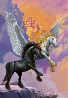 unicorn and dragon pictures - Google Search