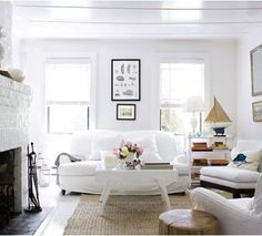 Coastal Style: White and Beachy