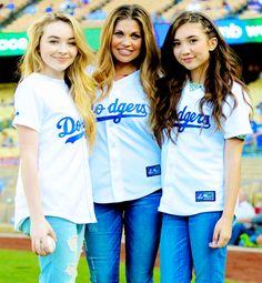 Sabrina Carpenter, Danielle Fishel and Rowan Blanchard