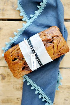 Nutella Banana Bread #recipe
