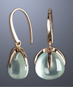 Pomellato : quartz and gold 'Veleno' drop earrings : style # 318697701