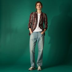 Checked jacket - Summer New Collection - Sandro-paris.com