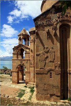 Akdamar island and Church / Van,Turkey