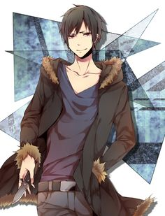 I know there are a lot of Izaya pics there....but I can't just help it.....XD