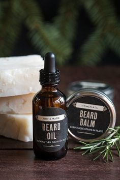 Aftershave & Pre-shave Hand Crafted Caveman™ Premium Classic Beard Oil Choice Materials