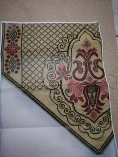 Cross Stitch Embroidery, Needlework, Bohemian Rug, Stitches, Crochet, Tips, Cross Stitch Pictures, Dots, Embroidery