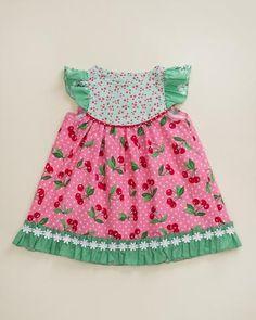 Cherry A La Mode Flutter Dress