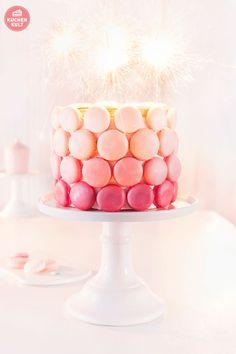 Geburtstagstorte Macarons