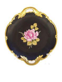 Black Beauty Platter by BeckVintage on Etsy, $32.00