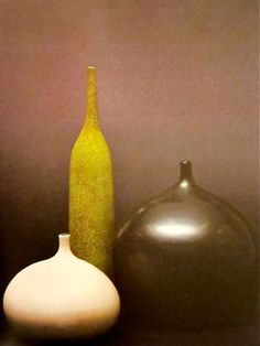 MONDOBLOGO: the prouvé of ceramics: georges jouve  Really good shapes and series, great color palett