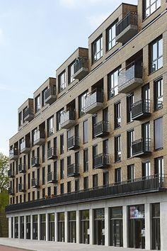 Het 'Franse' balkon - KENK architecten