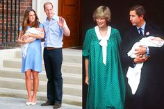 Kate and Diana in polka dots.