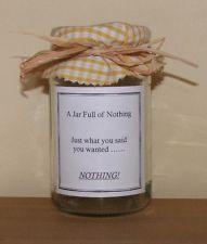 TatBack tat: a gift of nothing
