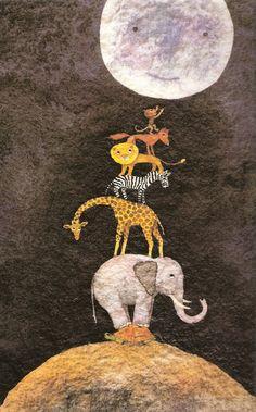 A TASTE OF THE MOON - by  Herminia Arnau