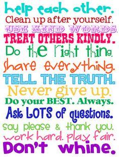 Kind phrases
