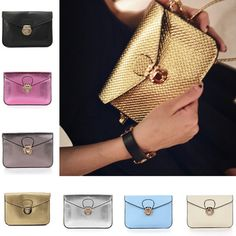 Fashion-Women-Shoulder-Leather-Handbag-Tote-Purse-Satchel-Messenger-Clutch-Bags