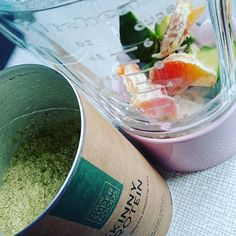 Da fehlt noch bissl was #sonntagsfrühstück #Protein #Smoothie #superfoodsmoothie #Avocado #omega3 #hempseedoil #oatmilk #acerola @yoursuperfoods #goodmorning by angi_glamsquadmuc