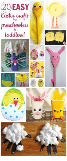 Easter crafts for toddlers | Easy | Christian | preschool | ideas to make | DIY | handprint crafts | preschoolers projects