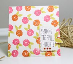 Stamp Away With Me: Design Team Inspiration with Kerrianne Bowen