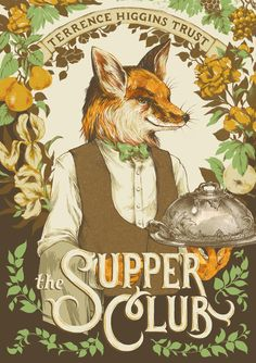 Supper Club cover illustration on Behance