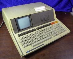 HP 85 Computer. I used one of these at Ford in 1982. I was way ahead of the game, since I had a TRS-80 at home. I re-programmed a copy of the SPC software to automate the mundane tasks. It has the BASIC language.