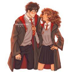 Harmony Harry Potter, Harry Potter Feels, Harry Potter Decor, Harry James Potter, Harry Potter Fan Art, Harry Potter World, Harry Potter Comics, Harry Potter Illustrations, Harry Potter Hermione Granger