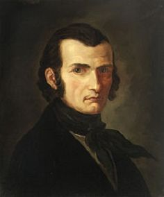 Johann Gottfried Seume (29 januari 1763 – 13 juni 1810 - Portret door Veit Hanns Schnorr von Carolsfeld, 1798