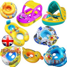 Kids baby toddler #swimming pool swim seat #float boat ring with #wheel and horn , View more on the LINK: http://www.zeppy.io/product/gb/2/182108108608/