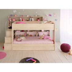 ^^Just click the link to read more about modern loft bed. Click the link to learn more****** Viewing the website is worth your time. Bunk Beds With Storage, Bunk Bed With Trundle, Bunk Beds With Stairs, Twin Bunk Beds, Bed Storage, Loft Beds, Storage Shelving, Shelving Units, Bunk Beds For Girls Room