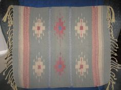 """Southwest Style Wool Rug - Wall Hanging  29"""" x 19 1/2"""""""