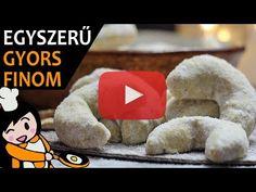 Hókifli - Recept Videók - YouTube