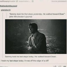 """annddd i""""m a puddle of tears...... #spn #death"""