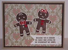 Stampin' Up! Cookie Cutter Christmas & Candy Cane Lane DSP