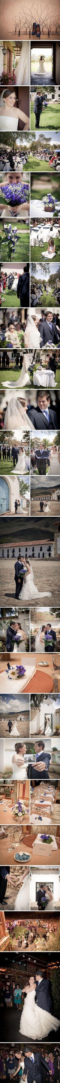 Nathalie y Anuar: Matrimonio en Villa de Leyva -- Fotografías: Efeunodos