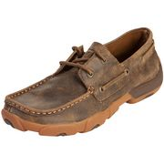 Twisted X Tan Bomber Boat Shoe