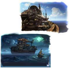 Boat - Characters & Art - Bravely Default: Flying Fairy