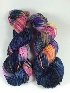 Sport Socks, Another Galaxy, SW Merino & nylon, sport weight, sock yarn, multicolored,  variegated,
