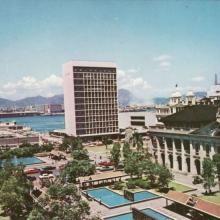 1960s City Hall Car Parks British Hong Kong, Those Were The Days, Car Parks, Macau, Skyscraper, 1960s, Dolores Park, Asia, Nostalgia