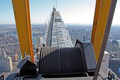 Incredible Pictures Of One World Trade Center Under Construction Icould NEVER do this!!!!!
