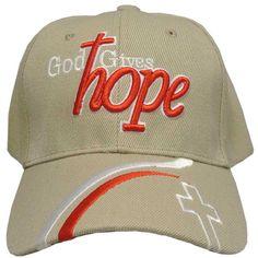 God Gives Hope Hat I Love Jesus Baseball Cap for Men and Women Christian  Hats ce1c69c5740c