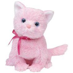 625cae2a69f TY Beanie Baby - FLEUR the Pink Cat (6 inch). Cat Beanie BabyBeanie  BoosBeanie BabiesBaby CatsBig EyesTy AnimalsNew Kids ToysPink CatCute Stuffed  Animals