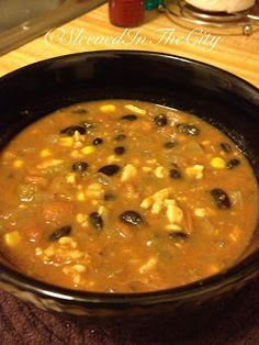 Mexican Chili! A new twist on an old favorite =)
