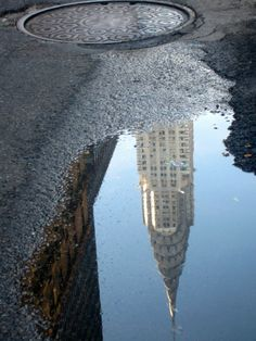 New York: nog niet geweest / Architectural Puddles (never been in NY)