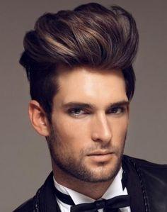 Men's Hair, Modern Pompadour.