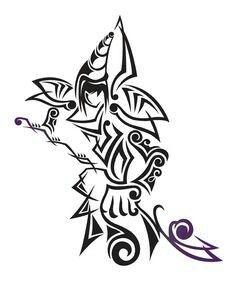 Dark Magican tattoo