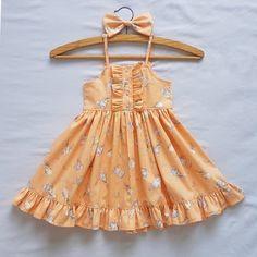 Baby Girl Frocks, Frocks For Girls, Kids Frocks, Toddler Girl Dresses, Little Girl Dresses, Baby Girl Fashion, Toddler Fashion, Kids Fashion, Baby Dress Design