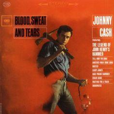 Johnny Cash - Blood, Sweat & Tears LP Record Vinyl - BRAND NEW - 180 Gram Vinyl