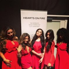 Fifth Harmony at Go Red For Women Red Dress Collection 2015 presented by Macys!