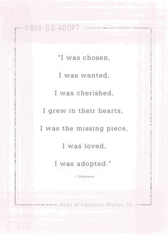 #AdoptionRocks #AdoptionIsLove #LoveMakesAFamily Adoption In Florida, Adoption Quotes, Adoption Agencies, Adoption Center, Uplifting Quotes, Wedding Ring, Motivating Quotes, Quotes Positive, Moving On Quotes