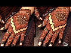 Kashee's Mehndi Designs, Modern Henna Designs, Floral Henna Designs, Latest Bridal Mehndi Designs, Full Hand Mehndi Designs, Mehndi Designs For Girls, Mehndi Design Pictures, Wedding Mehndi Designs, Mehndi Designs For Fingers